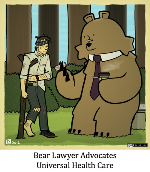 Bear Lawyer Advocates Universal Health Care