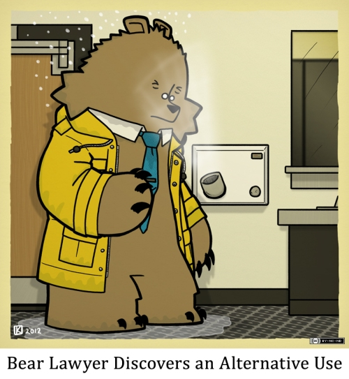 Bear Lawyer Discovers an Alternative Use