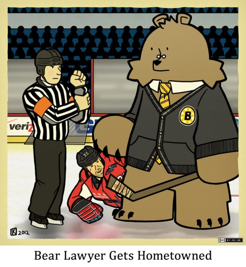 Bear Lawyer Gets Hometowned