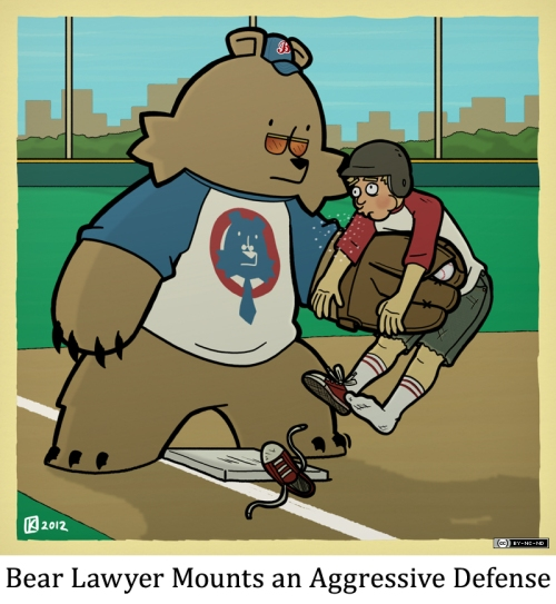 Bear Lawyer Mounts an Aggressive Defense