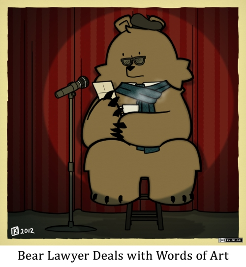 Bear Lawyer Deals with Words of Art