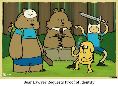 Bear Lawyer Requests Proof of Identity