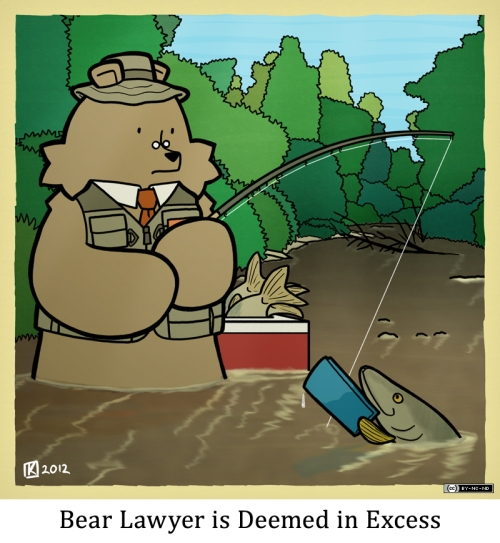 Bear Lawyer is Deemed in Excess