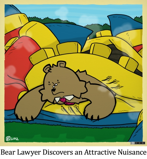 Bear Lawyer Discovers an Attractive Nuisance