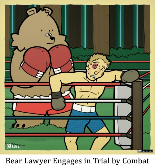 Bear Lawyer Engages in Trial by Combat