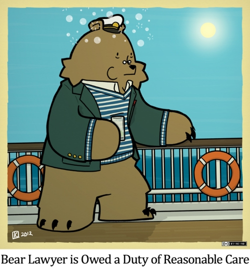 Bear Lawyer is Owed a Duty of Reasonable Care