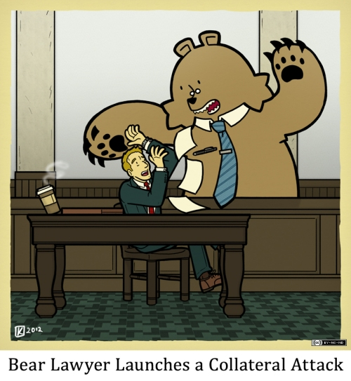 Bear Lawyer Launches a Collateral Attack