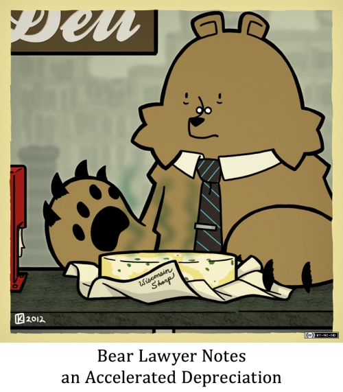 Bear Lawyer Notes an Accelerated Depreciation