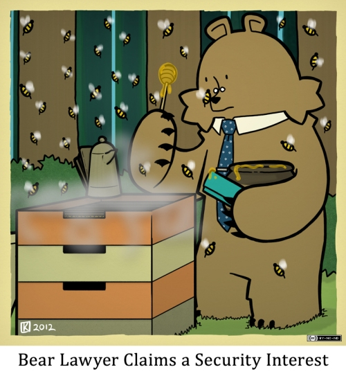 Bear Lawyer Claims a Security Interest