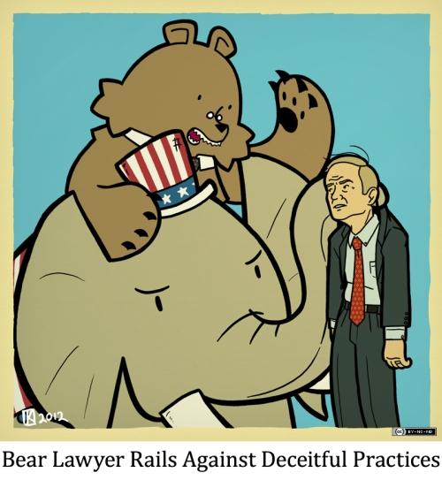 Bear Lawyer Rails Against Deceitful Practices
