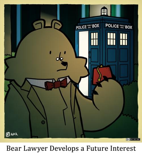 Bear Lawyer Develops a Future Interest