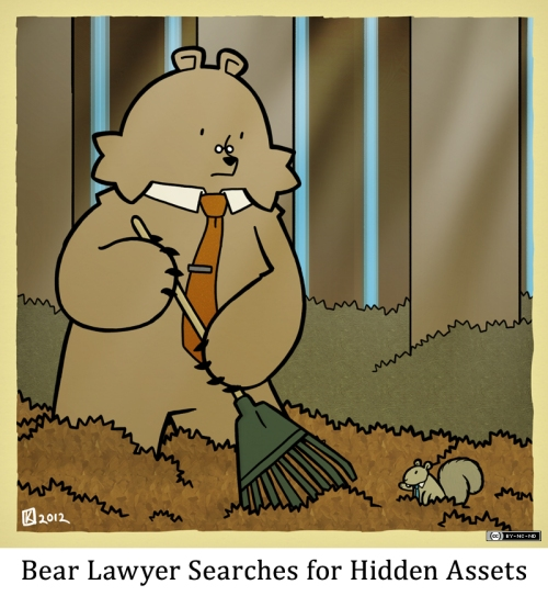 Bear Lawyer Searches for Hidden Assets
