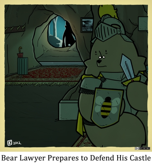 Bear Lawyer Prepares to Defend His Castle