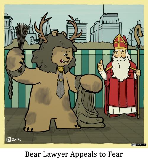Bear Lawyer Appeals to Fear
