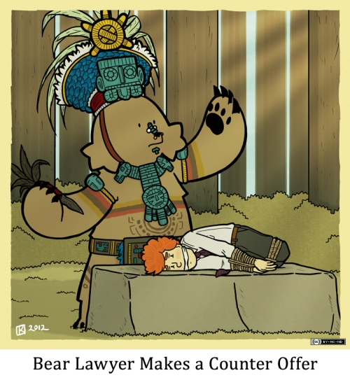 Bear Lawyer Makes a Counter Offer