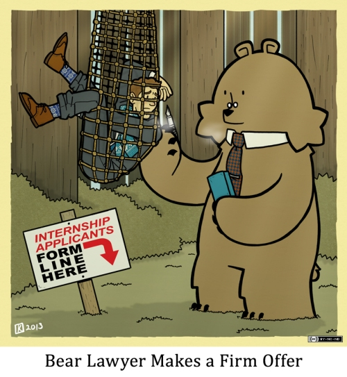 Bear Lawyer Makes a Firm Offer