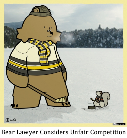 Bear Lawyer Considers Unfair Competition