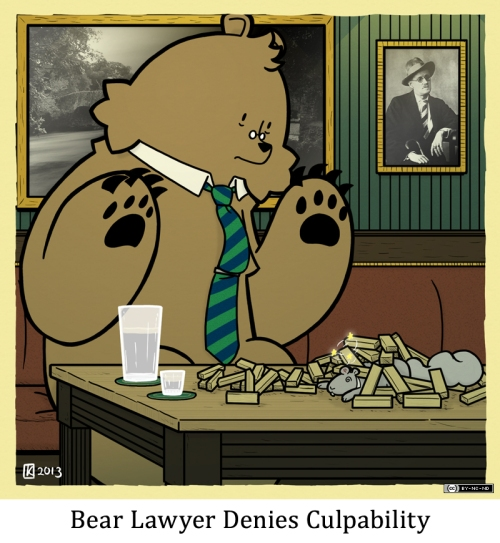 Bear Lawyer Denies Culpability