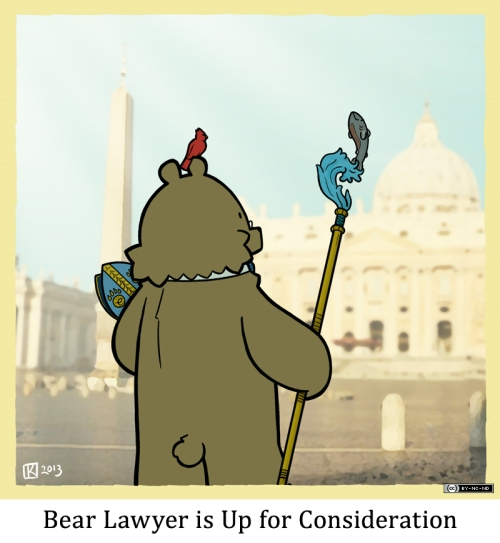 Bear Lawyer is Up for Consideration