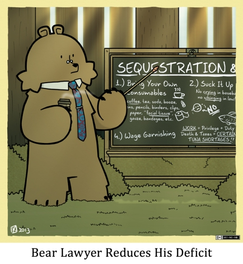 Bear Lawyer Reduces His Deficit