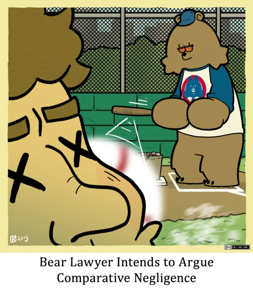 Bear Laywer Intends to Argue Comparative Negligence