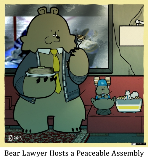 Bear Lawyer Hosts a Peaceable Assembly
