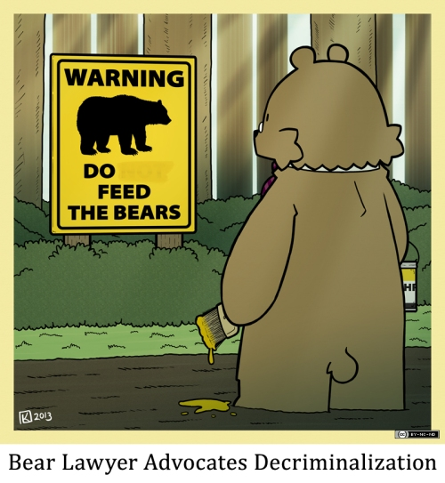 Bear Lawyer Advocates Decriminalization