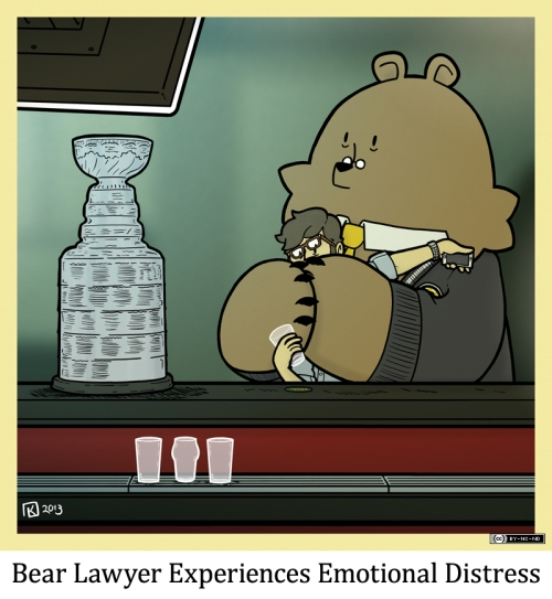 Bear Lawyer Experiences Emotional Distress