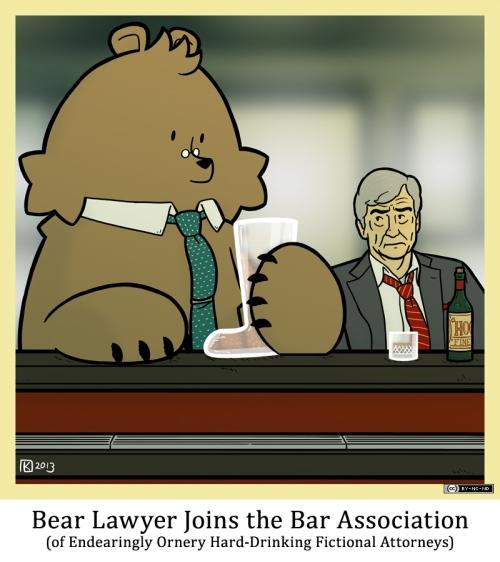 Bear Lawyer Joins the Bar Association