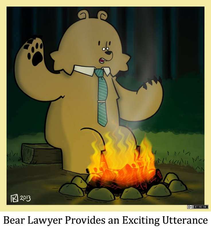 Bear Lawyer Provides an Exciting Utterance