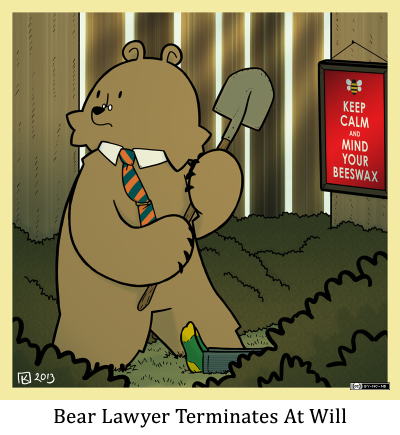 Bear Lawyer Terminates At Will