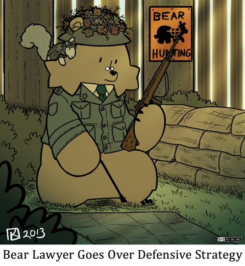Bear Lawyer Goes Over Defensive Strategy